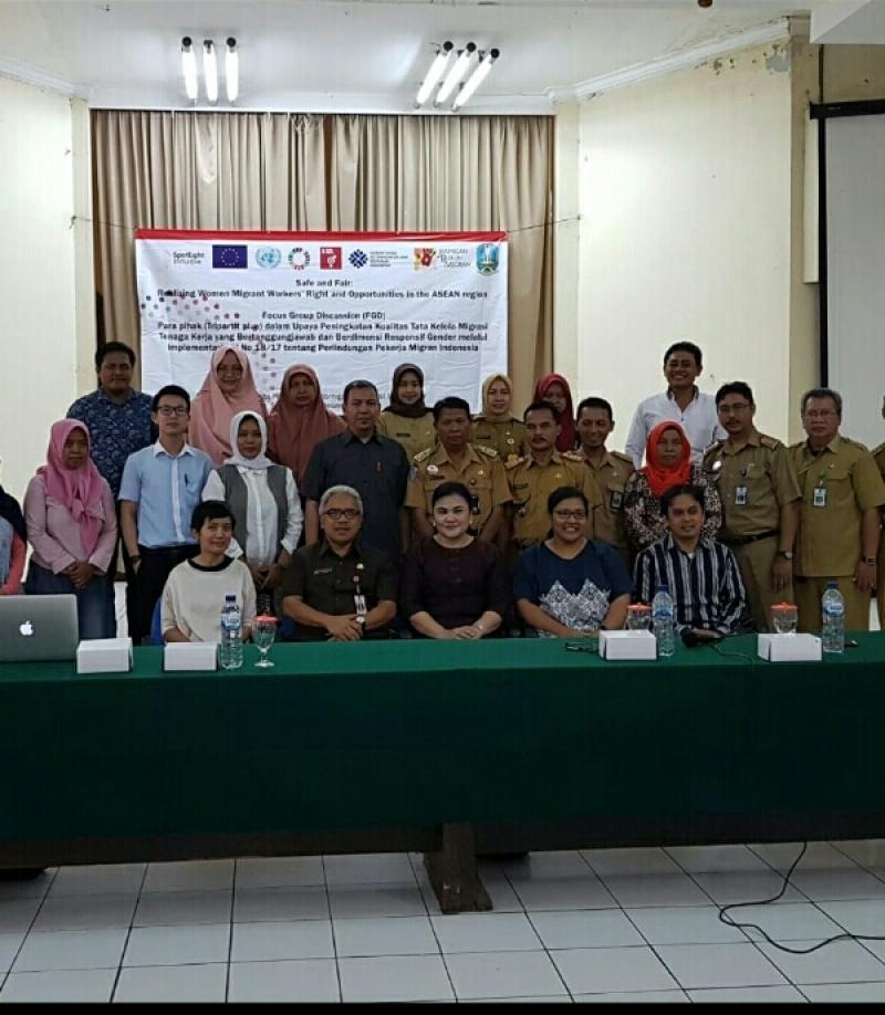 Disnaker Jatim Maksimalkan Perlindungan Pekerja Migran Indonesia