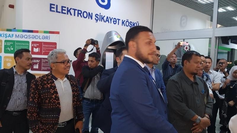 Delegasi Indonesia Kagum dengan Tata Kelola Pelayanan Publik Republik Azerbaijan